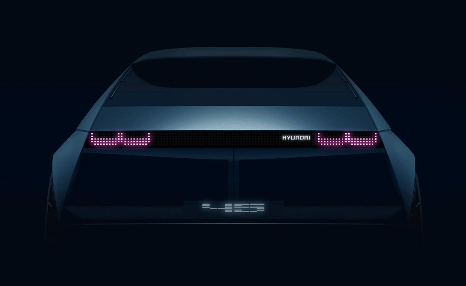 Hyundai teases all-electric concept '45' for Frankfurt