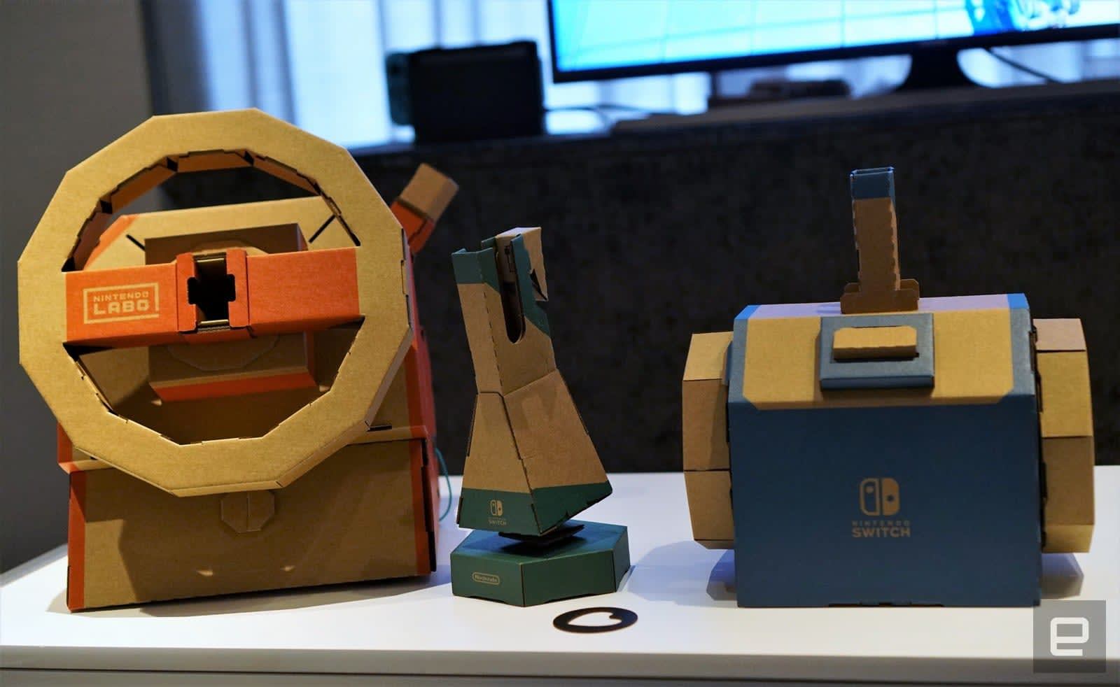 Nintendo Labo Vehicle Kit hands-on: The Toy-Cons we've been