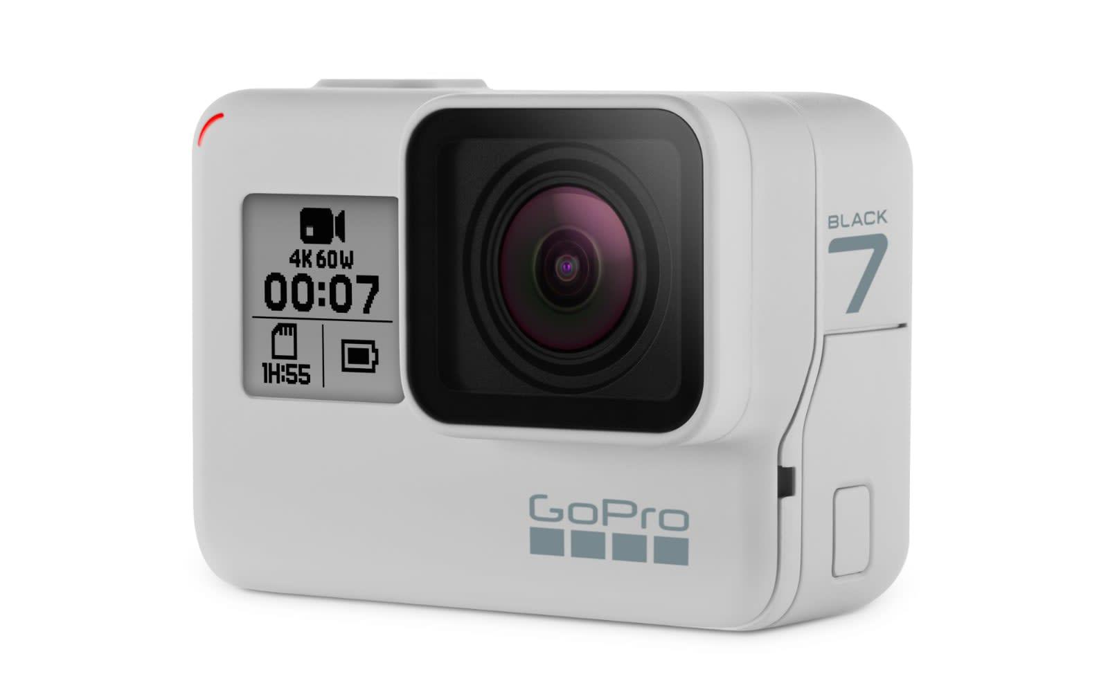 3d12137d51 GoPro turns the Hero 7 Black white