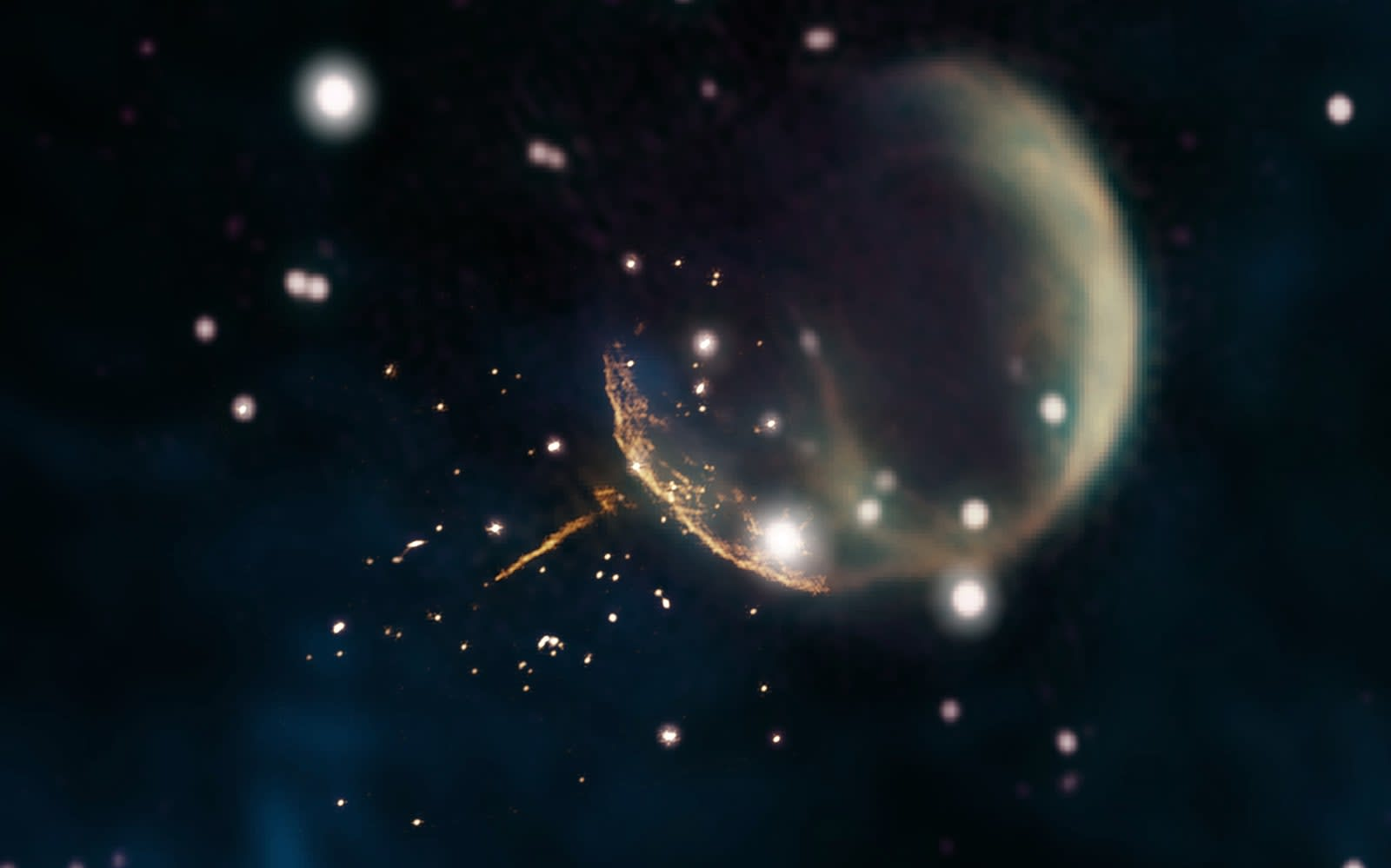 0228273eb  Cannonball  pulsar points to the supernova that formed it