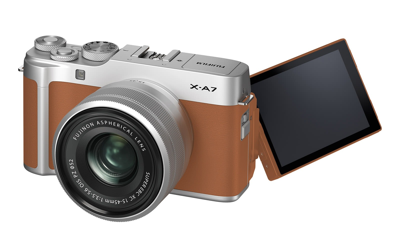 Fujifilm's entry-level X-A7 comes with 4K video and face detection