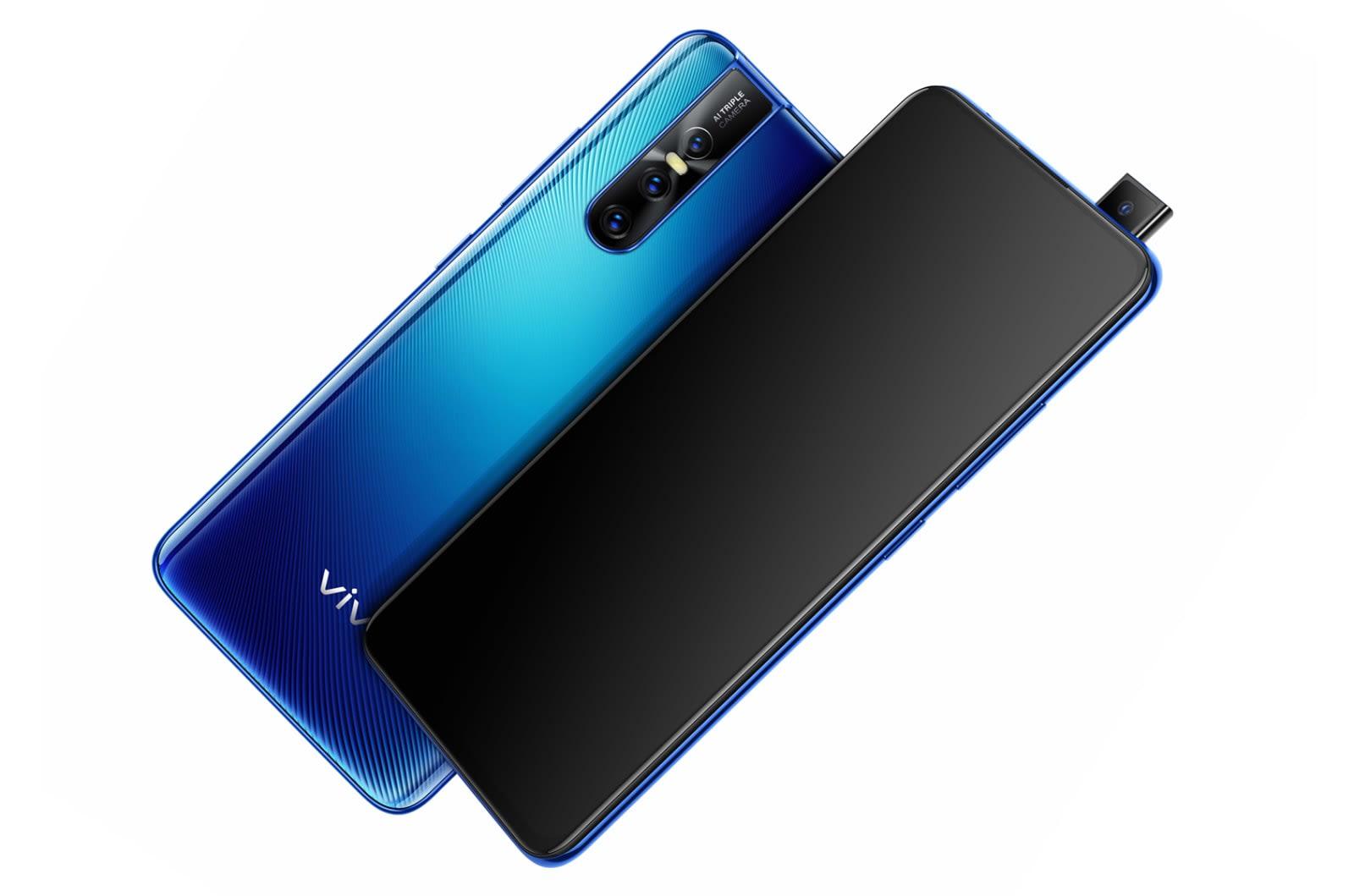 Vivo's notch-free V15 Pro has a 32-megapixel pop-up selfie