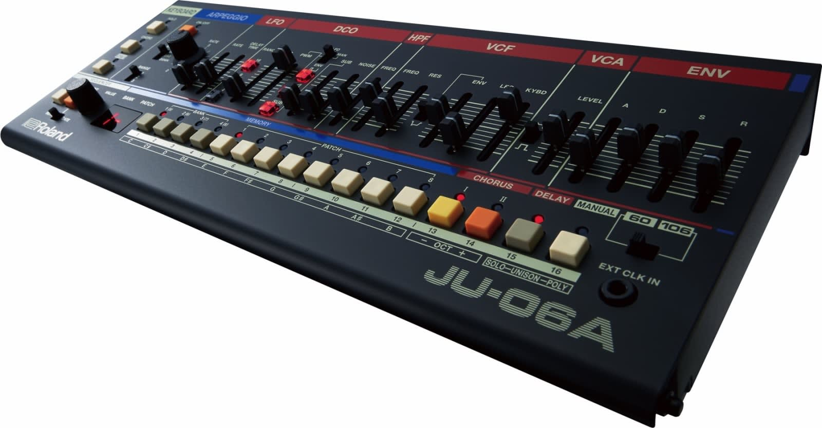 Roland's JU-06A stuffs iconic '80s sounds in a tiny portable
