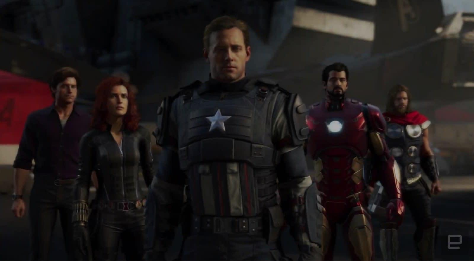 「Avengers square enix LA」的圖片搜尋結果