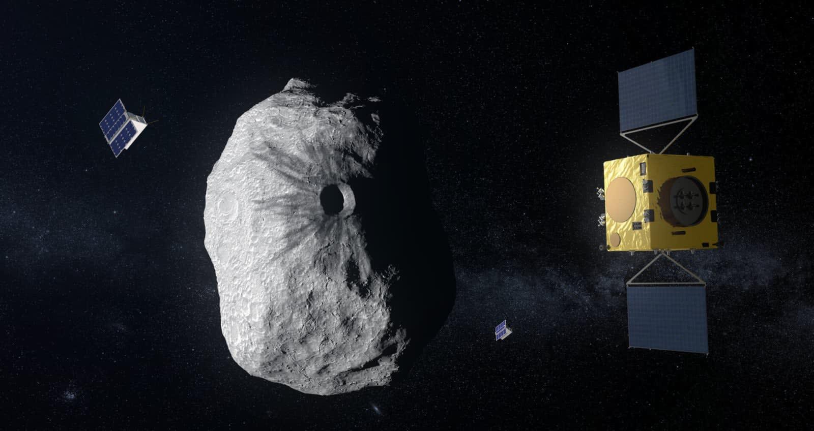ESA Hera Anti-asteroit misyonu