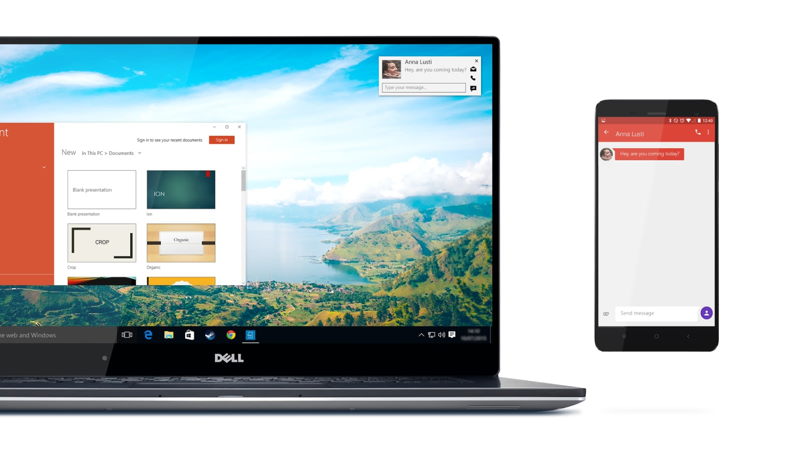 Dell's new Mobile Connect software puts your phone on your PC