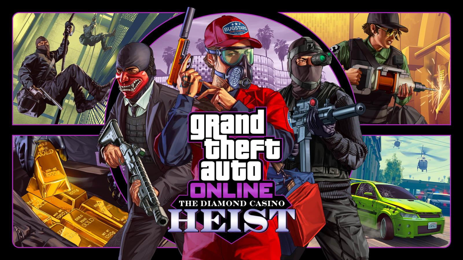 Upcoming 'GTA: Online' heist targets the Diamond Casino