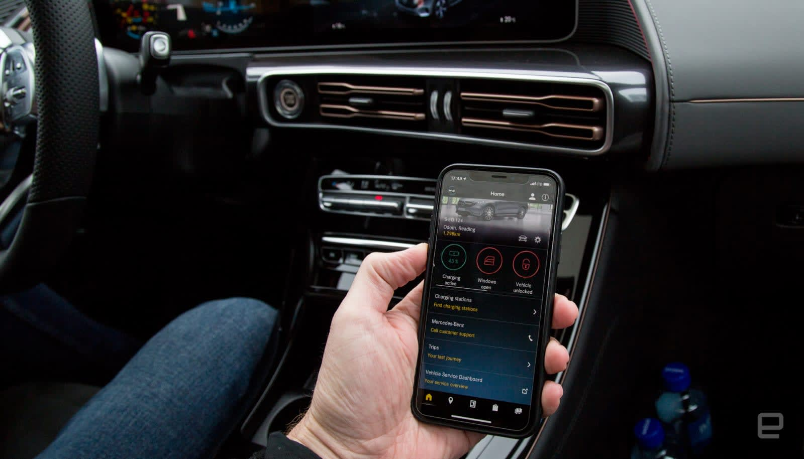 Mercedes app was leaking car owners' data to other users