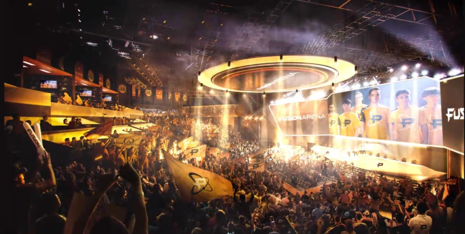 Philadelphia Fusion will open the first US arena built for esports