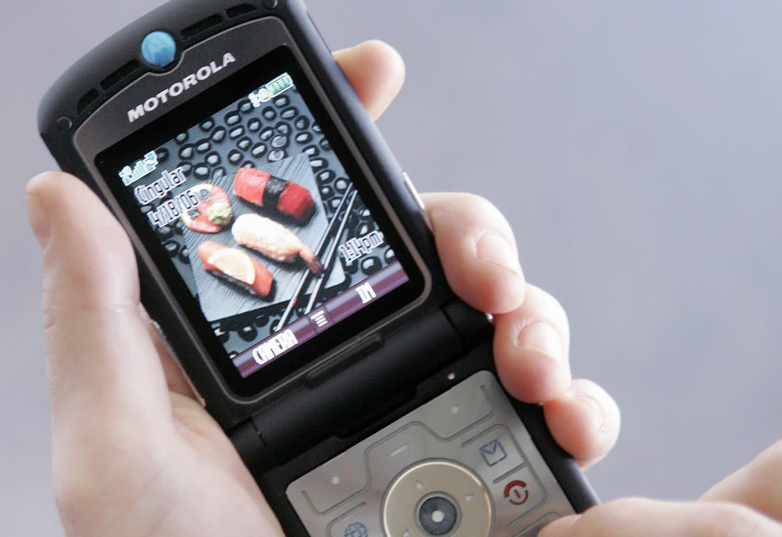 Motorola invite hints at a 'reinvented' RAZR