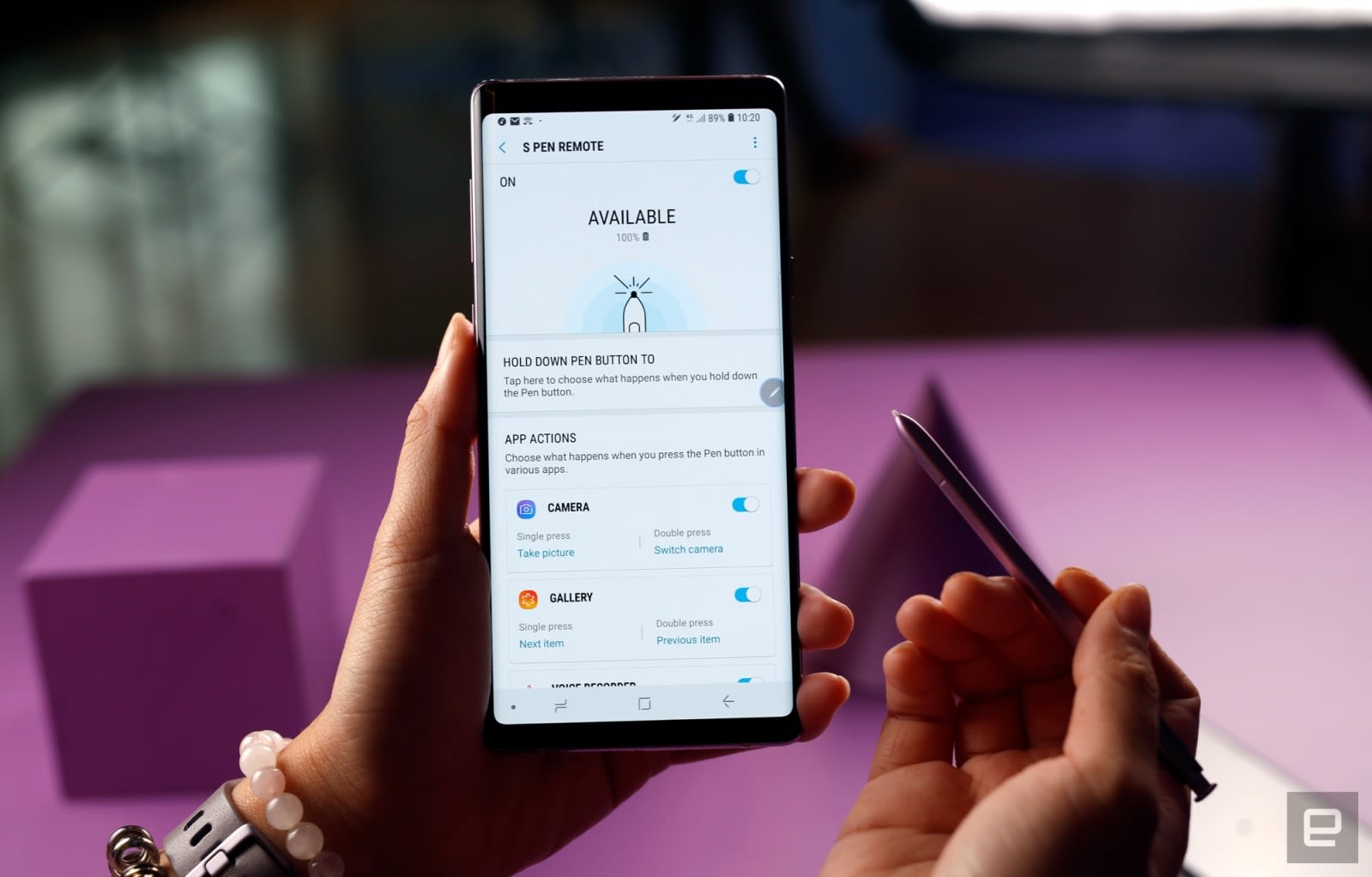 A cheat sheet for the new Galaxy Note 9 S Pen