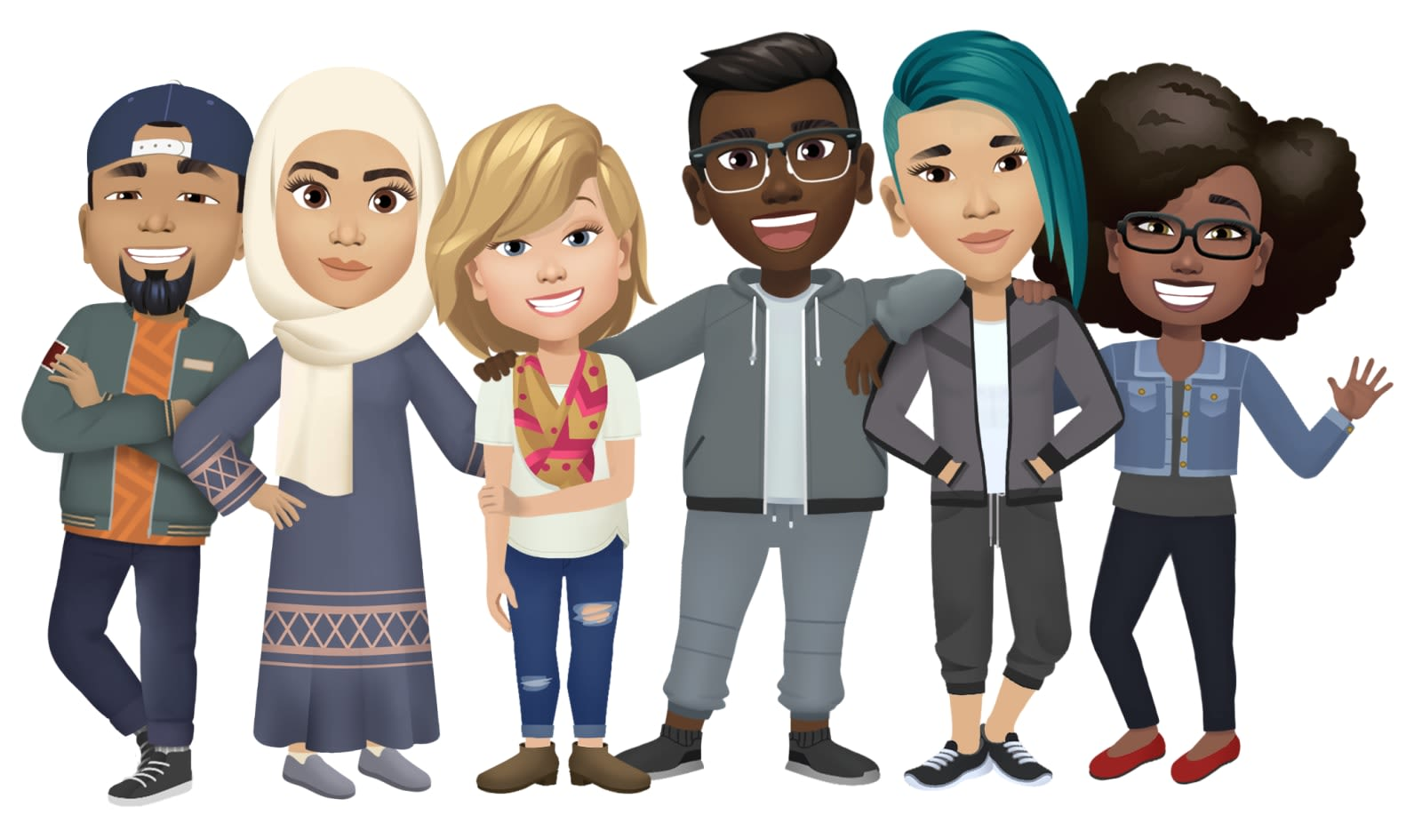 Facebook's Avatars are a belated answer to Bitmoji