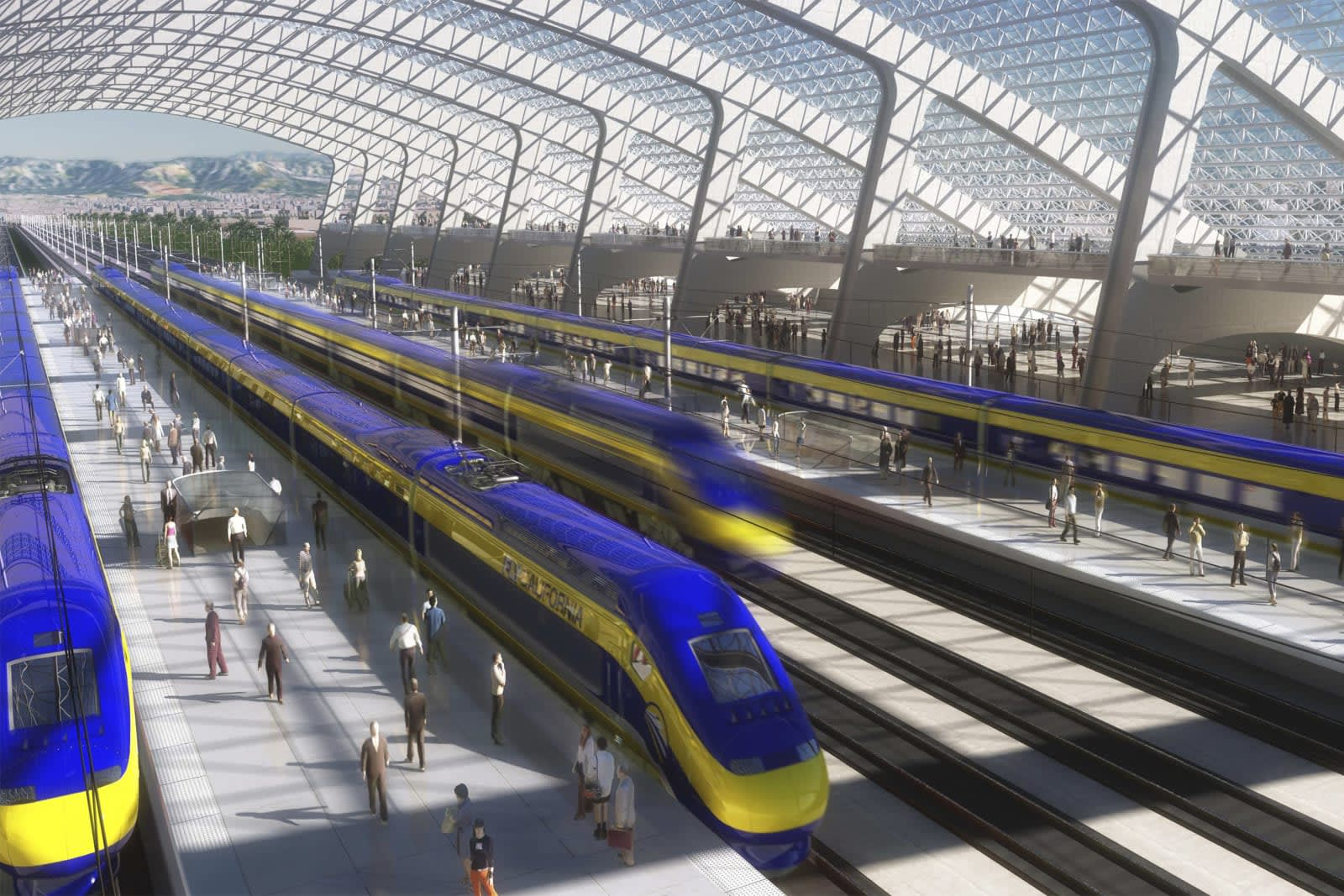 Image result for california high speed rail