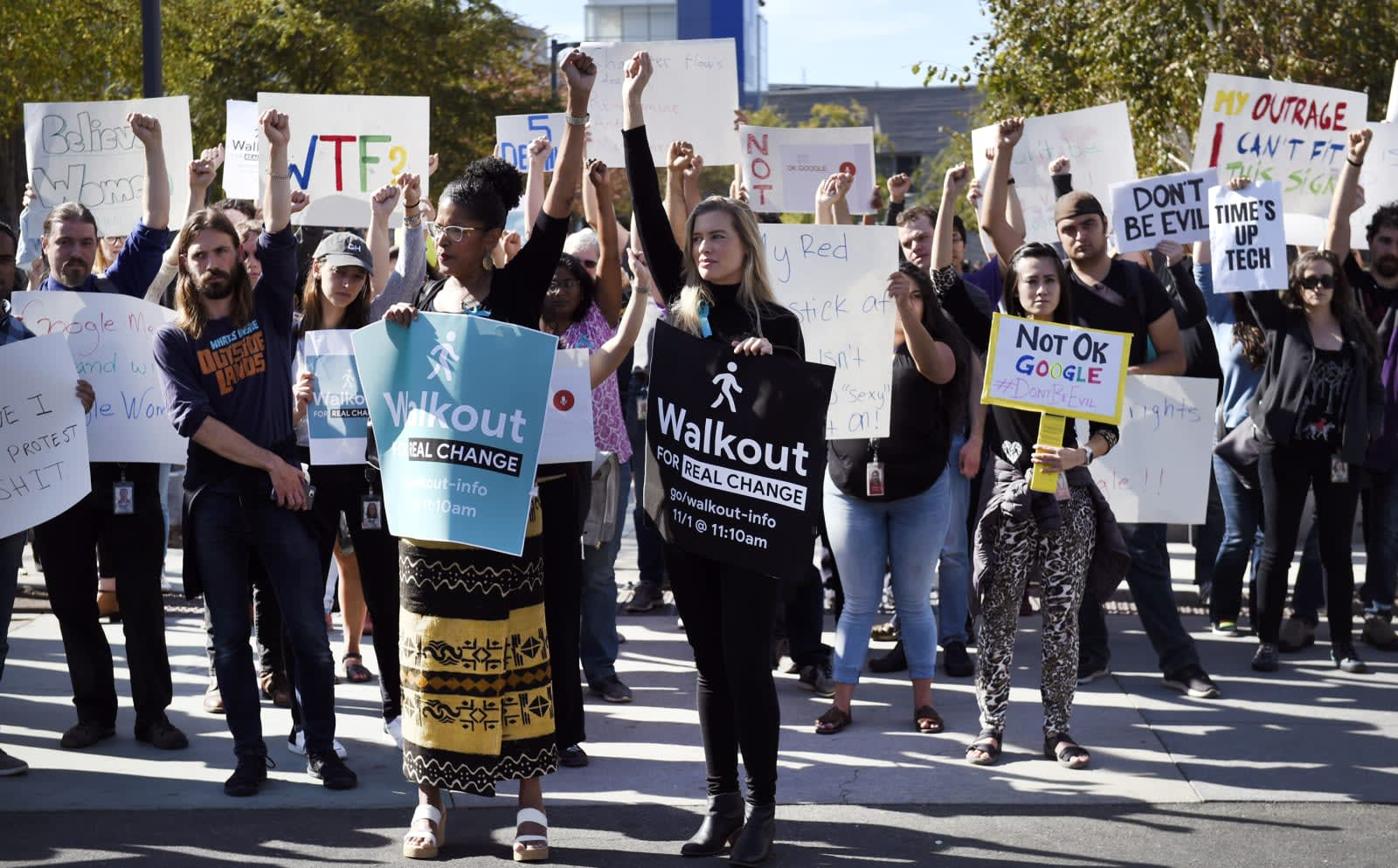 Google Walkout organizers: changes are a start, but not enough