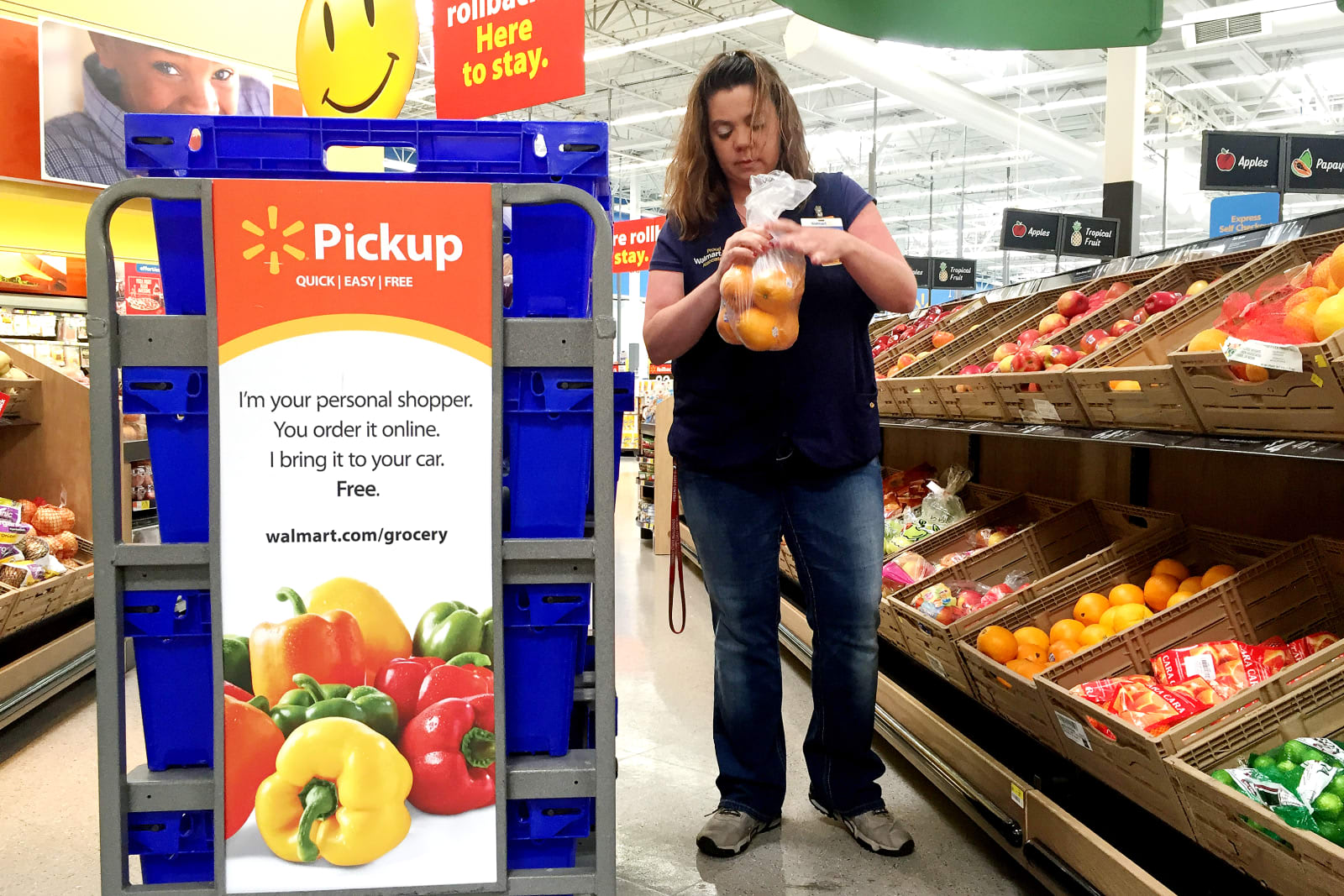 Walmart S Online Grocery Shopping Service Will Now Accept