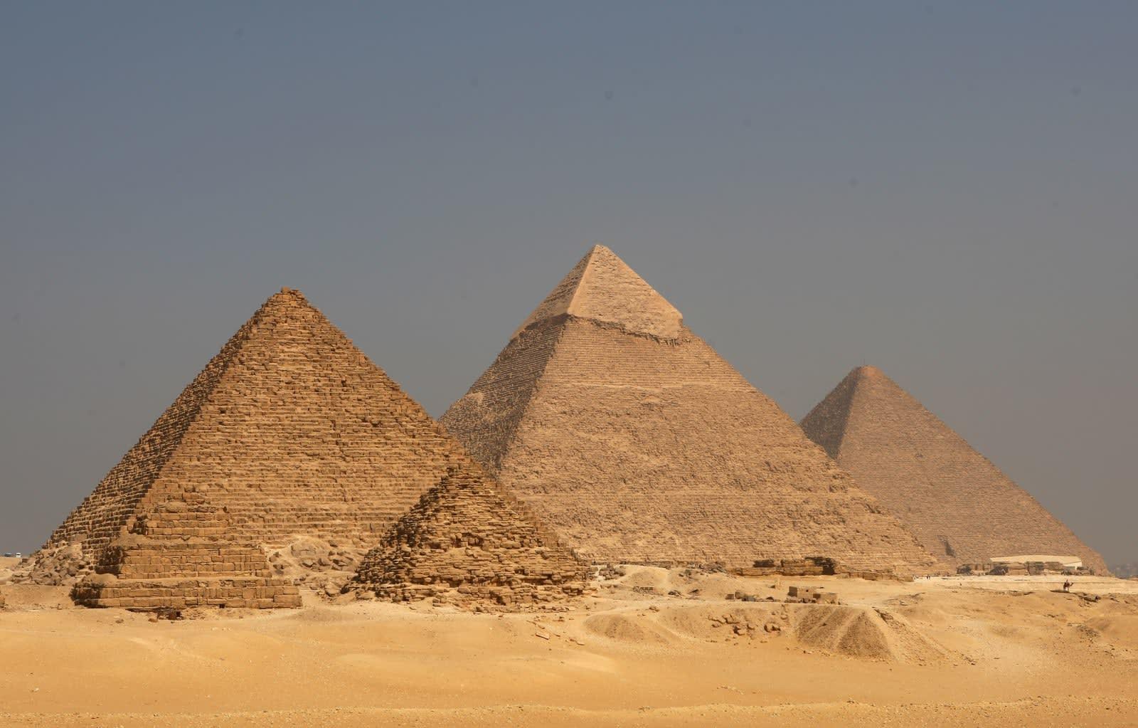 Cosmic rays unlock new secrets in Egypt's Great Pyramid