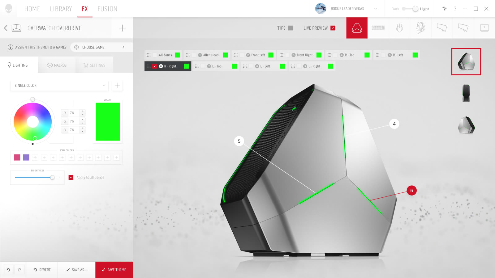 Alienware's control hub redesign folds in your game library