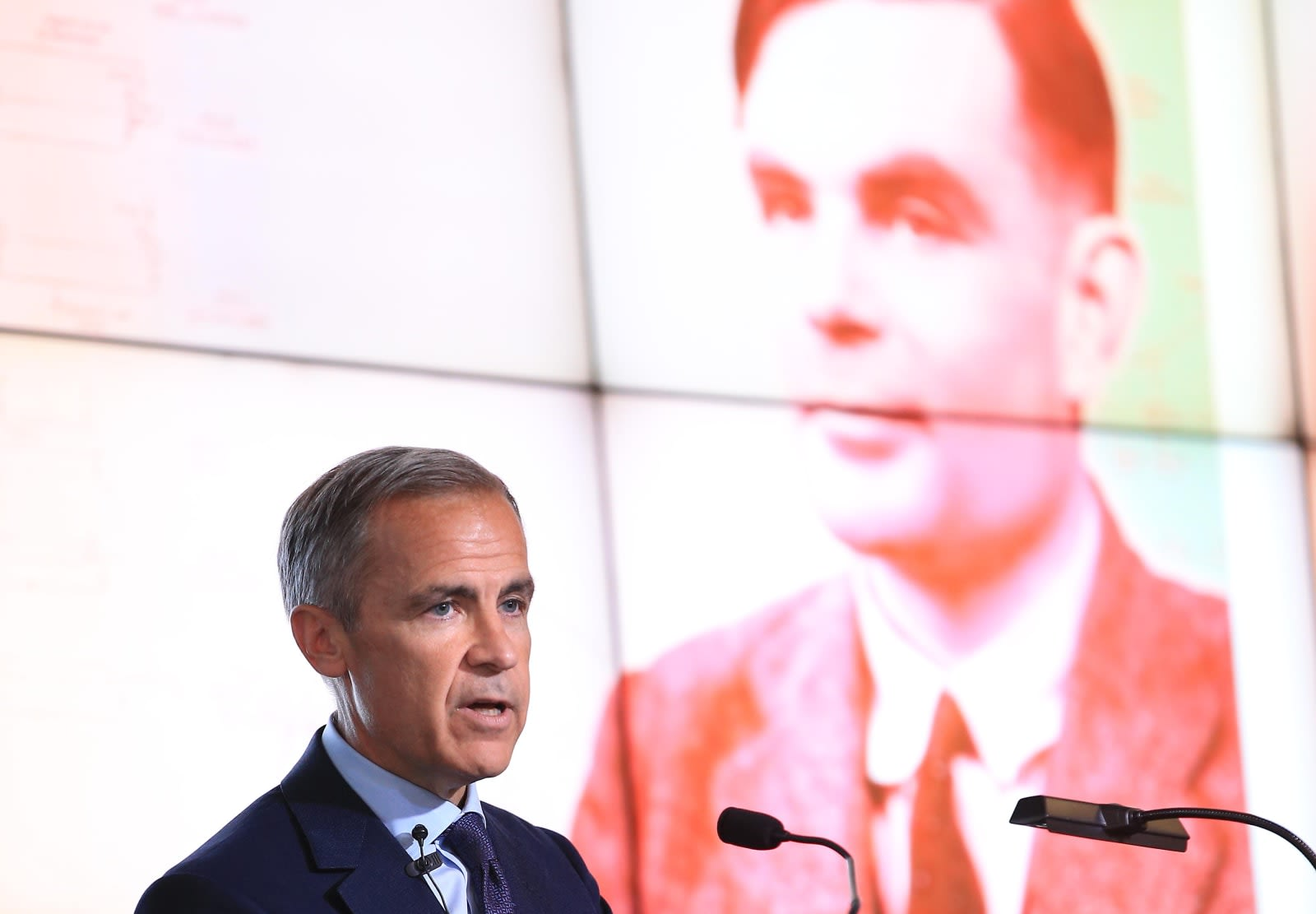 The Bank of England will honor Alan Turing on its new £50 note