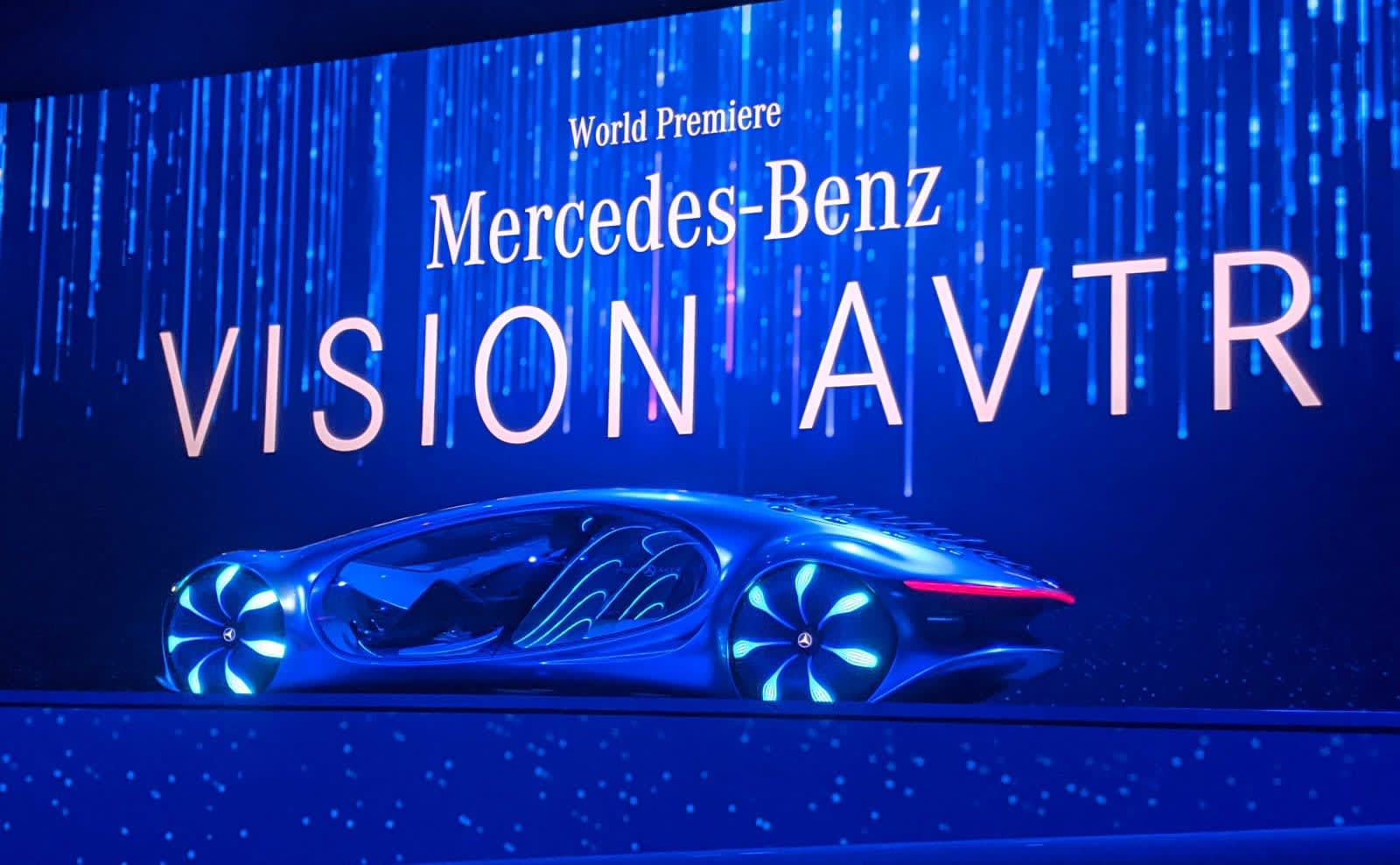 Mercedes unveils crazy Avatar-inspired concept car