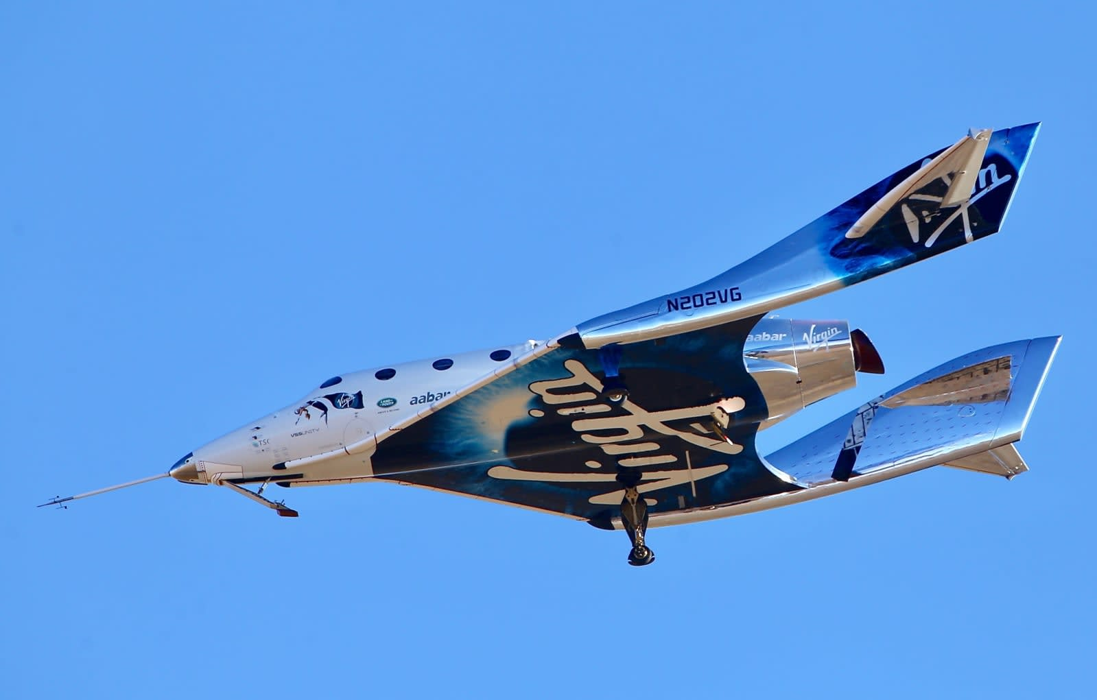 Virgin Galactic's SpaceShipTwo reaches space for the first ...