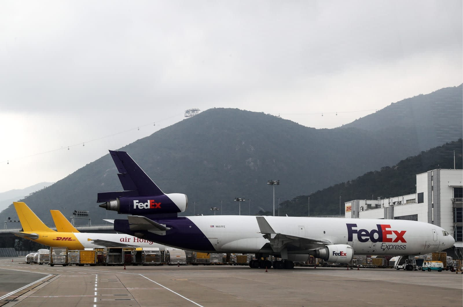 FedEx sues US over mandate to monitor Huawei shipments