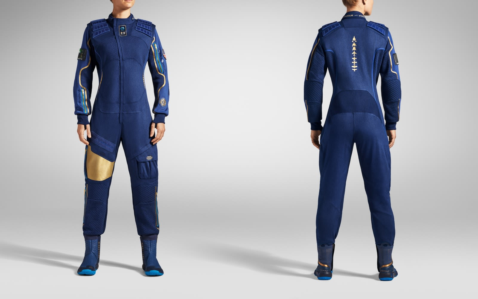 Virgin Galactic passengers will wear these Under Armour spacesuits