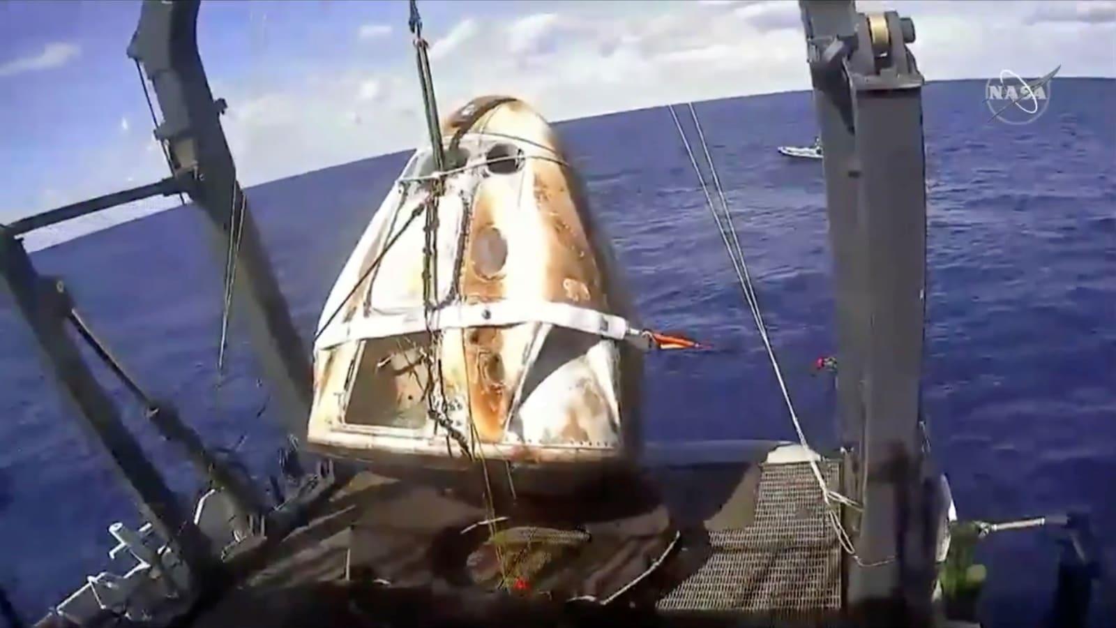 SpaceX blames Crew Dragon explosion on an oxidizer leak