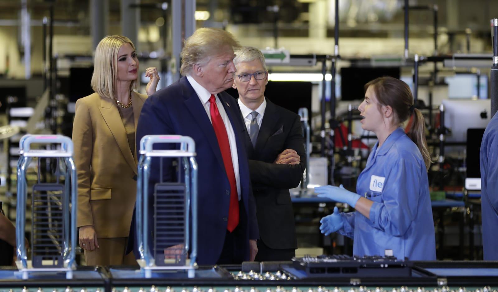 Trump 'opens' Texas Apple plant that's built Mac Pros since 2013