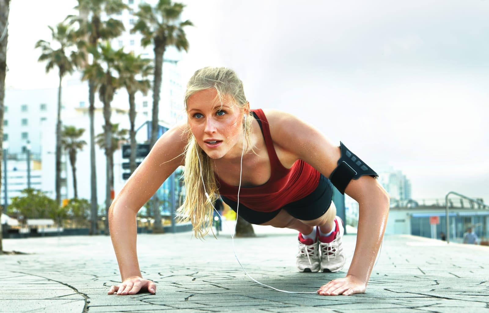Wearable gauges fitness through stress hormones in your sweat