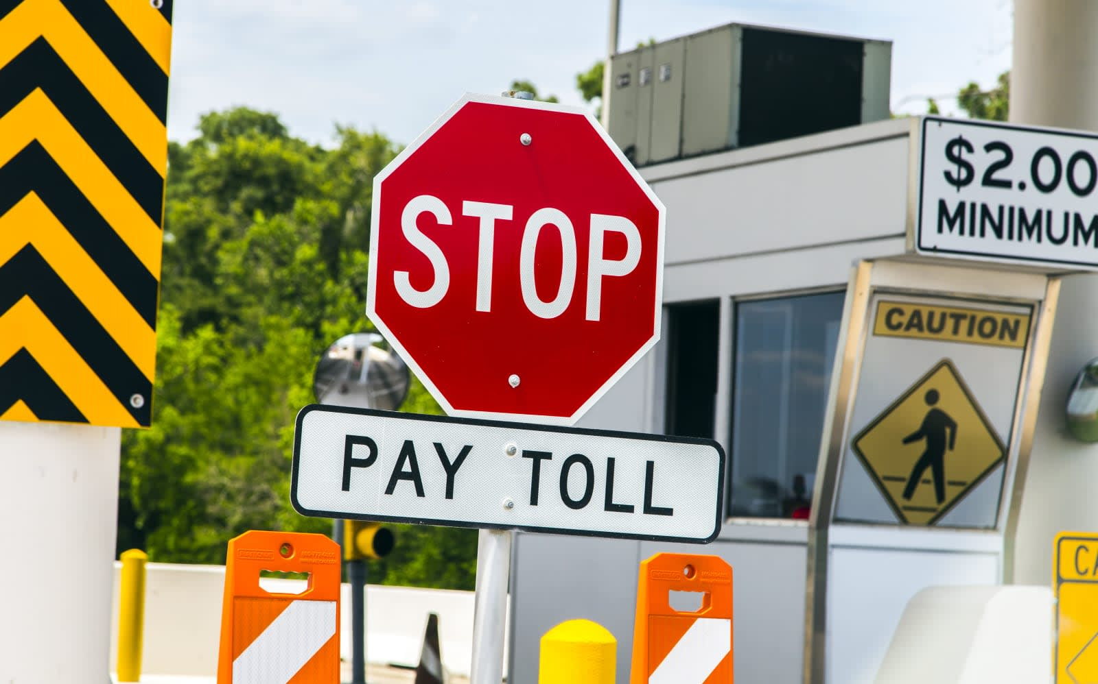 Waze shows how much you have to pay at the tollgate