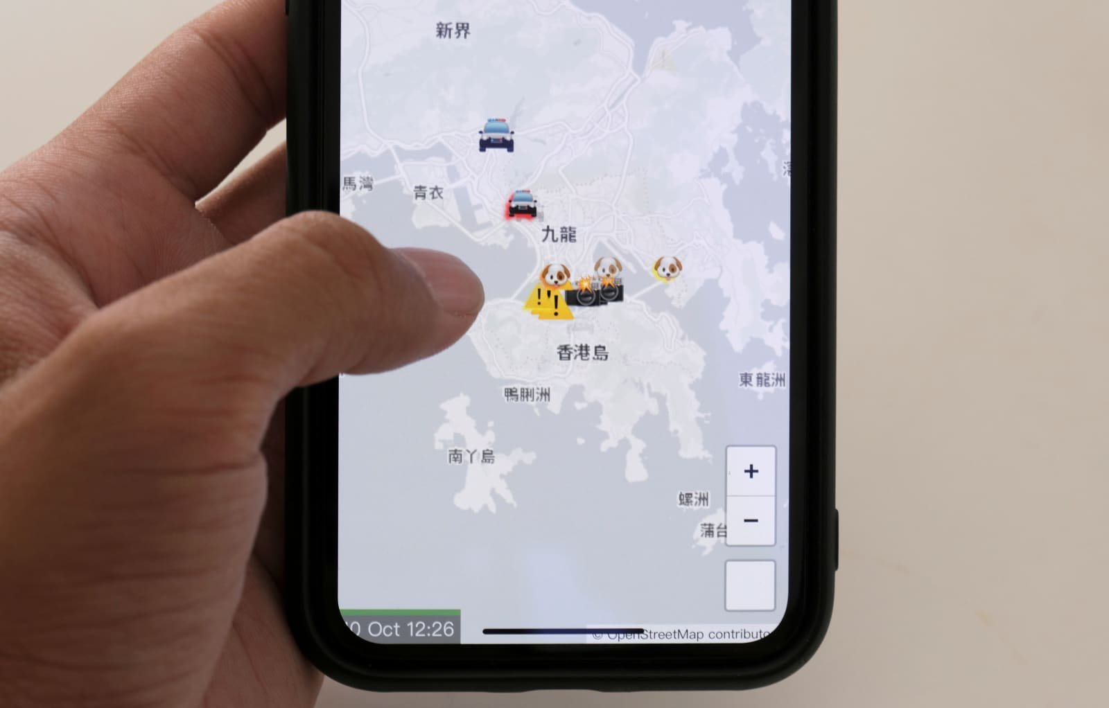 Apple removes Hong Kong protest app following Chinese pressure