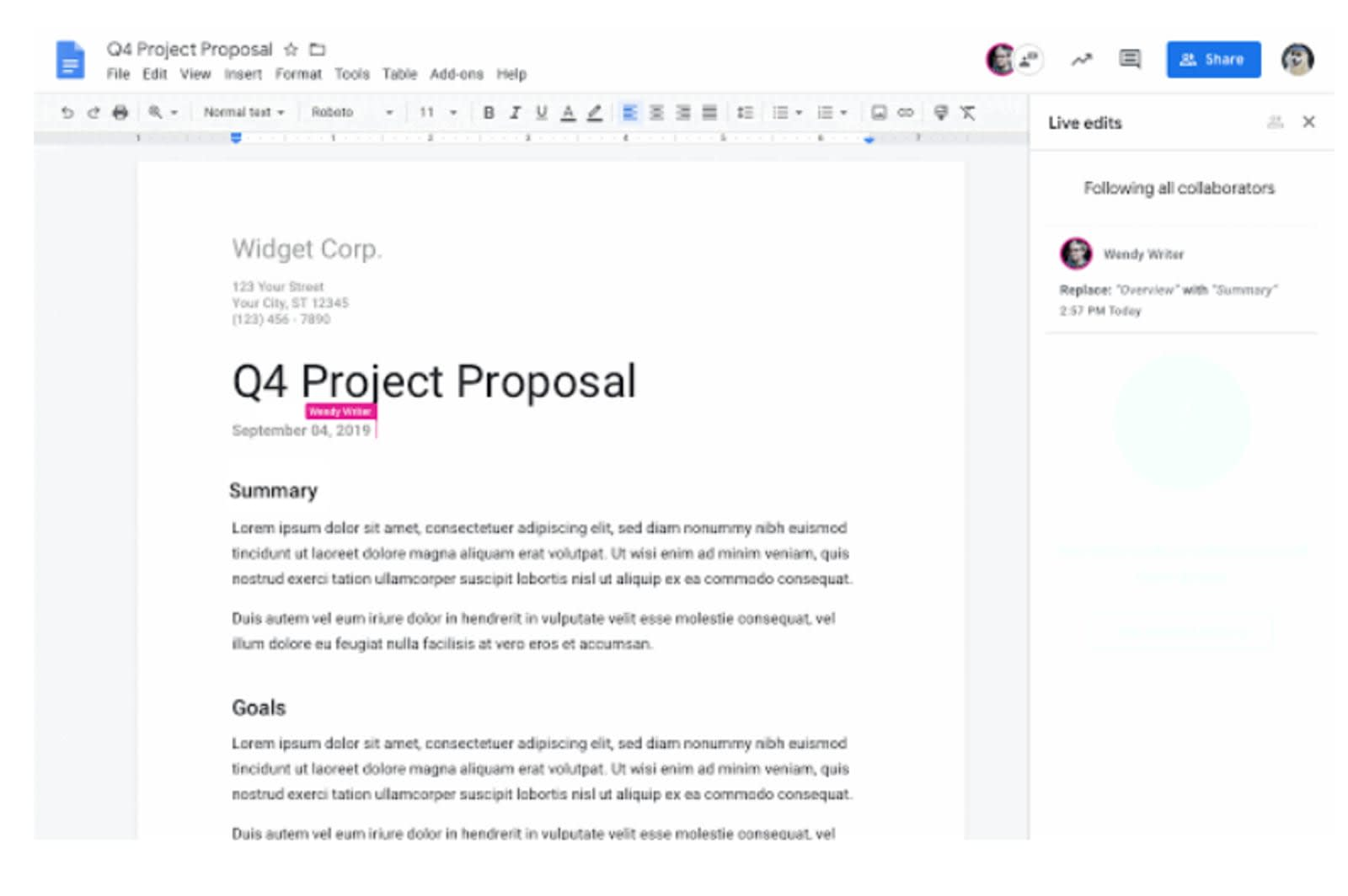 Google Docs 'live edits' feature helps the visually impaired