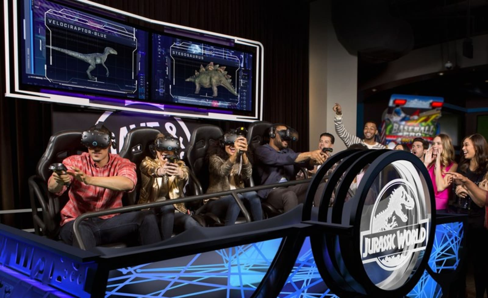 Htc Brings Multiplayer Vr Games To Dave Amp Busters This Month