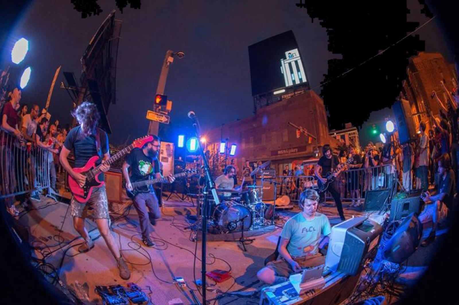 Bit Brigade, the rock band that plays classic NES games on-stage