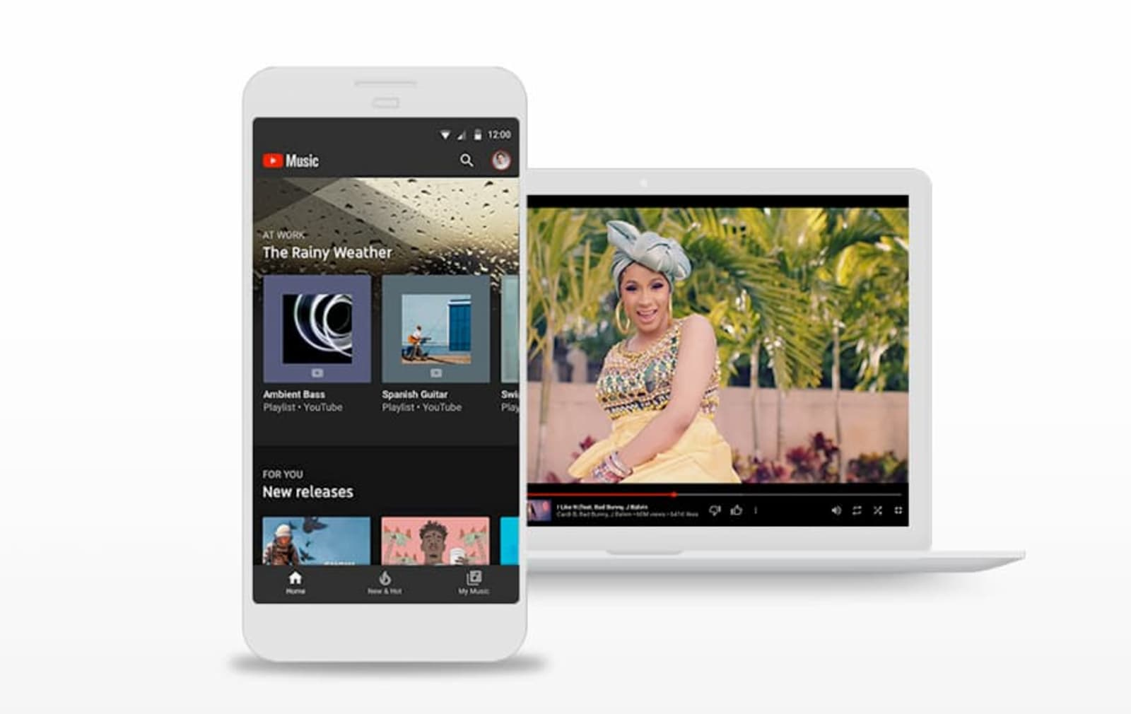 YouTube Music adds seamless switching between audio and videos