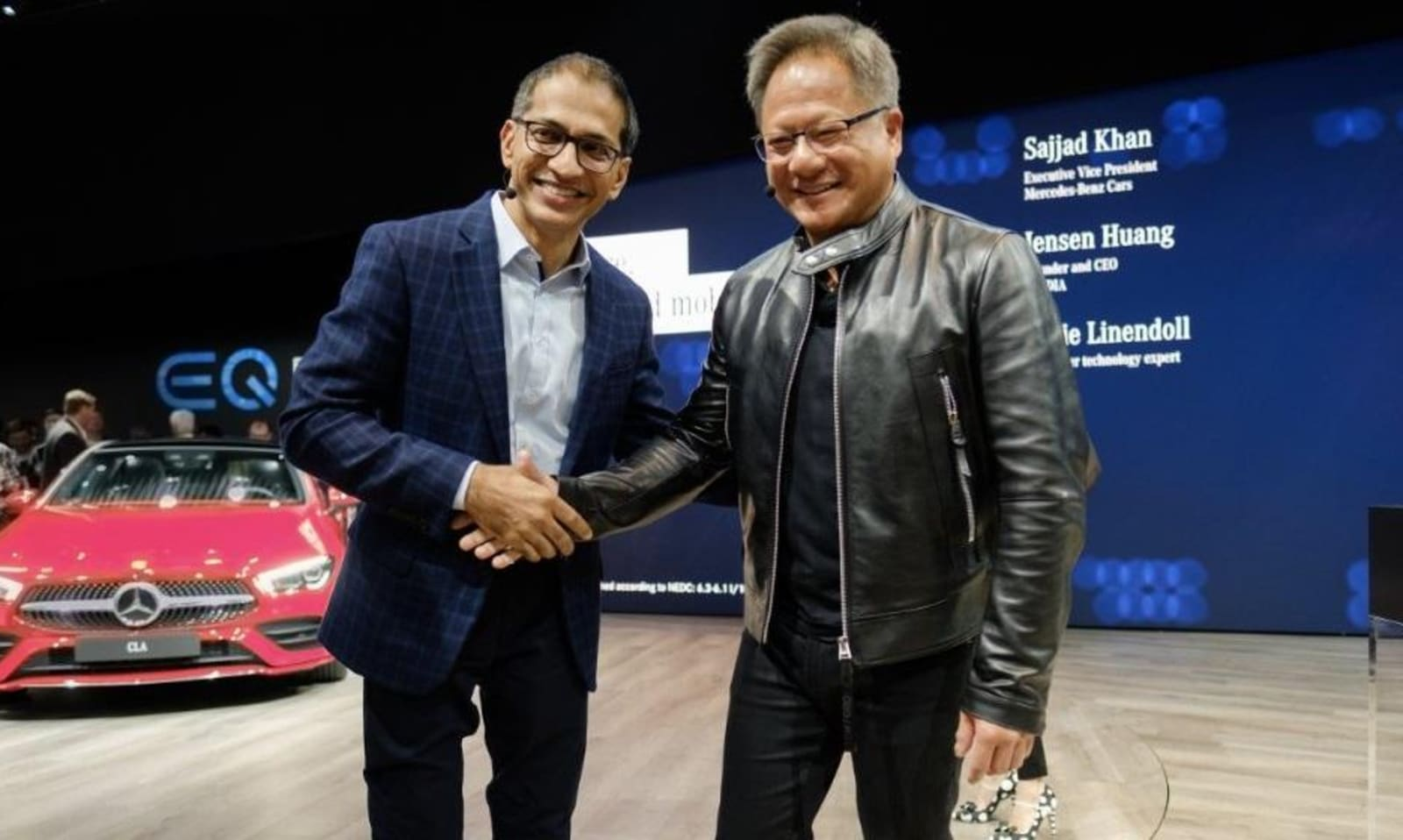 Mercedes and NVIDIA team up to build next-gen AI vehicles