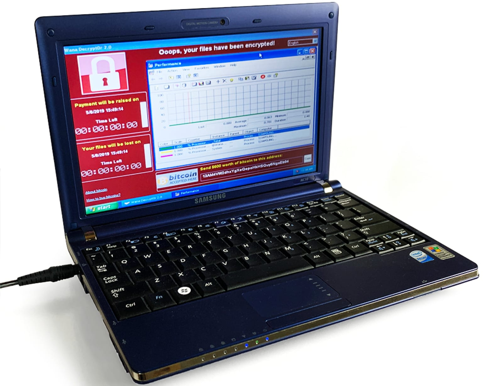 A laptop filled with six of the world's most dangerous viruses is on sale for more than $1 millionको लागि तस्बिर परिणाम