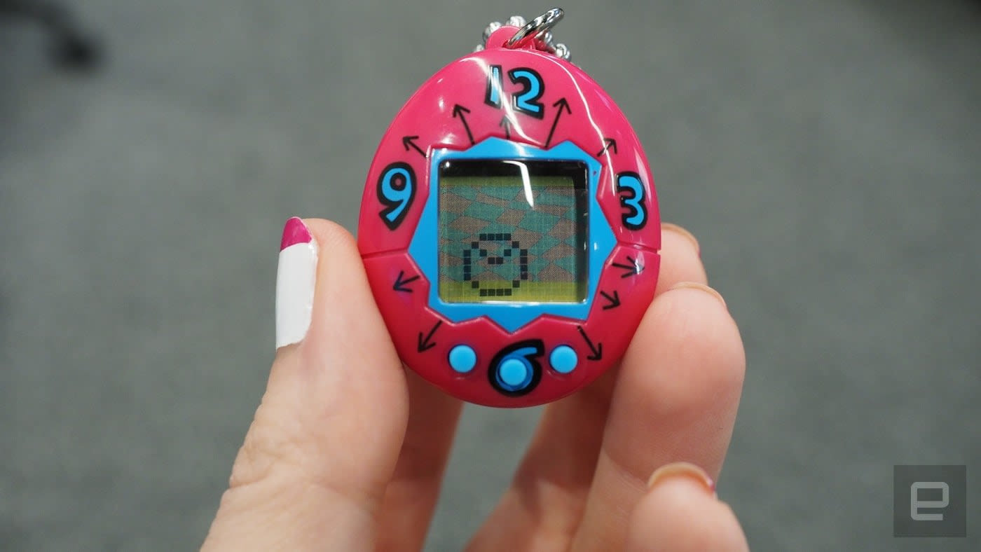 1639387a66c8be The 20th anniversary Tamagotchi is smaller but still easy to kill