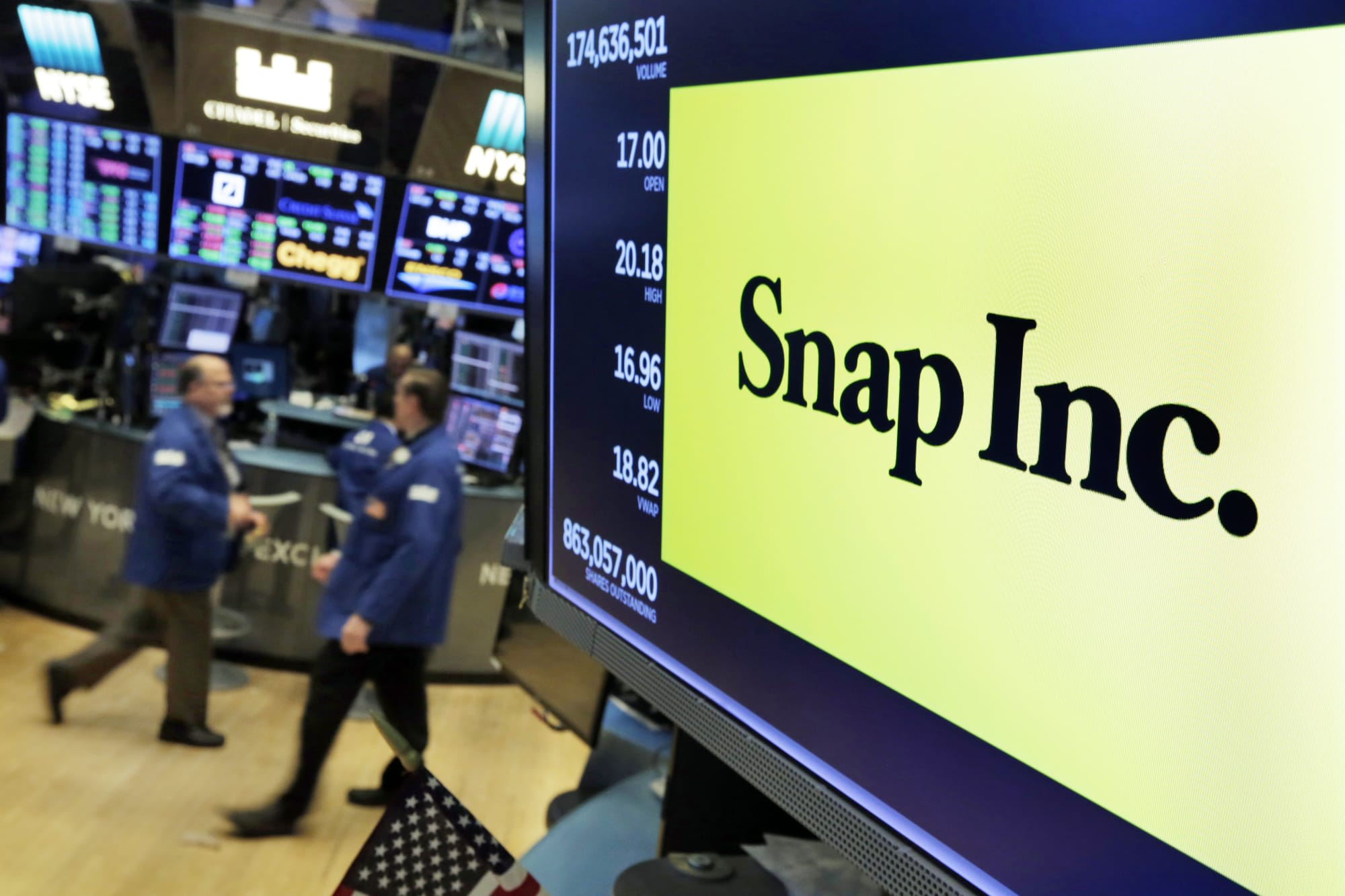Snapchat had more than 200 million daily users last quarter