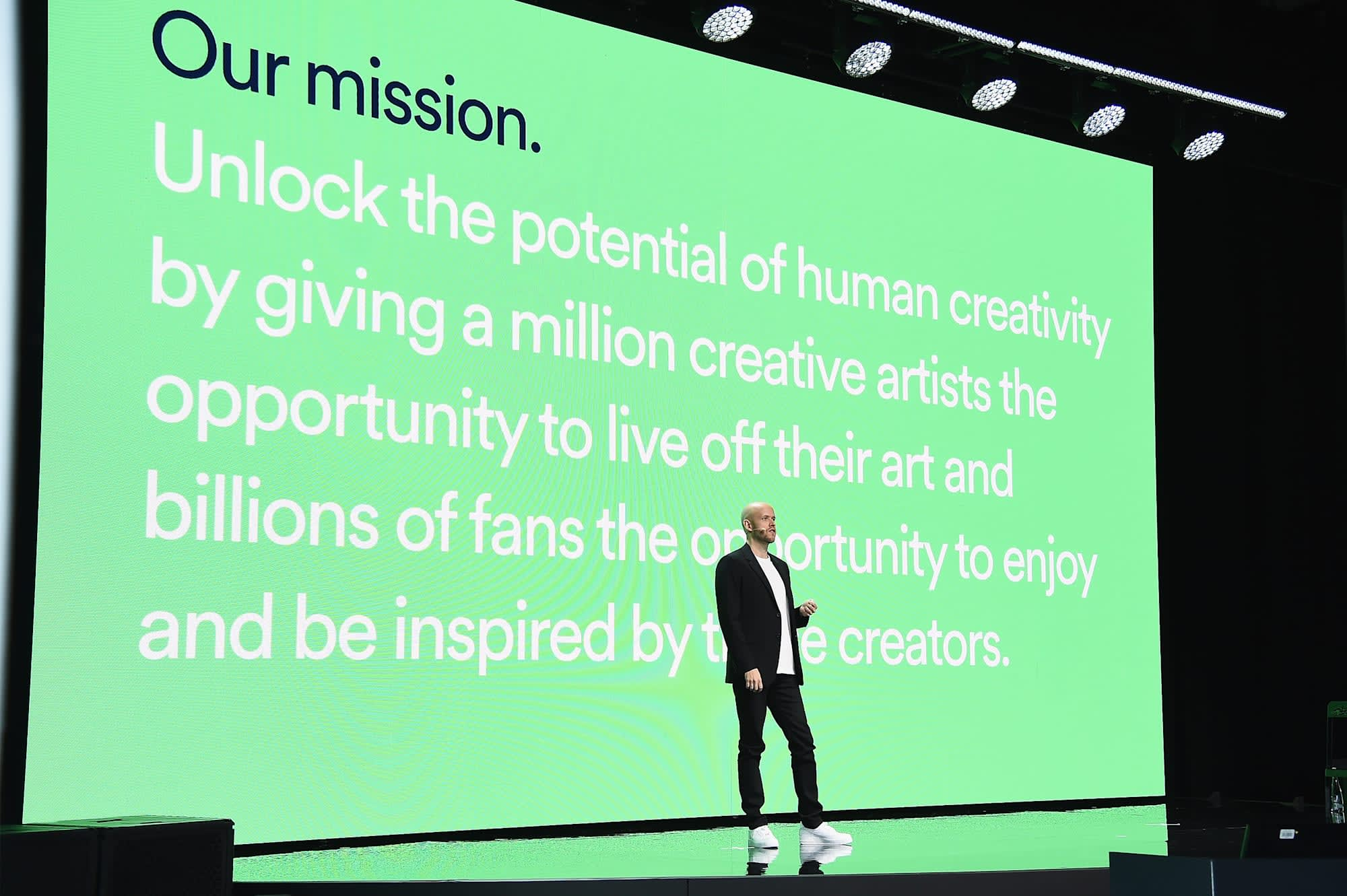 Why has Spotify filed a complaint against Apple to the EU?