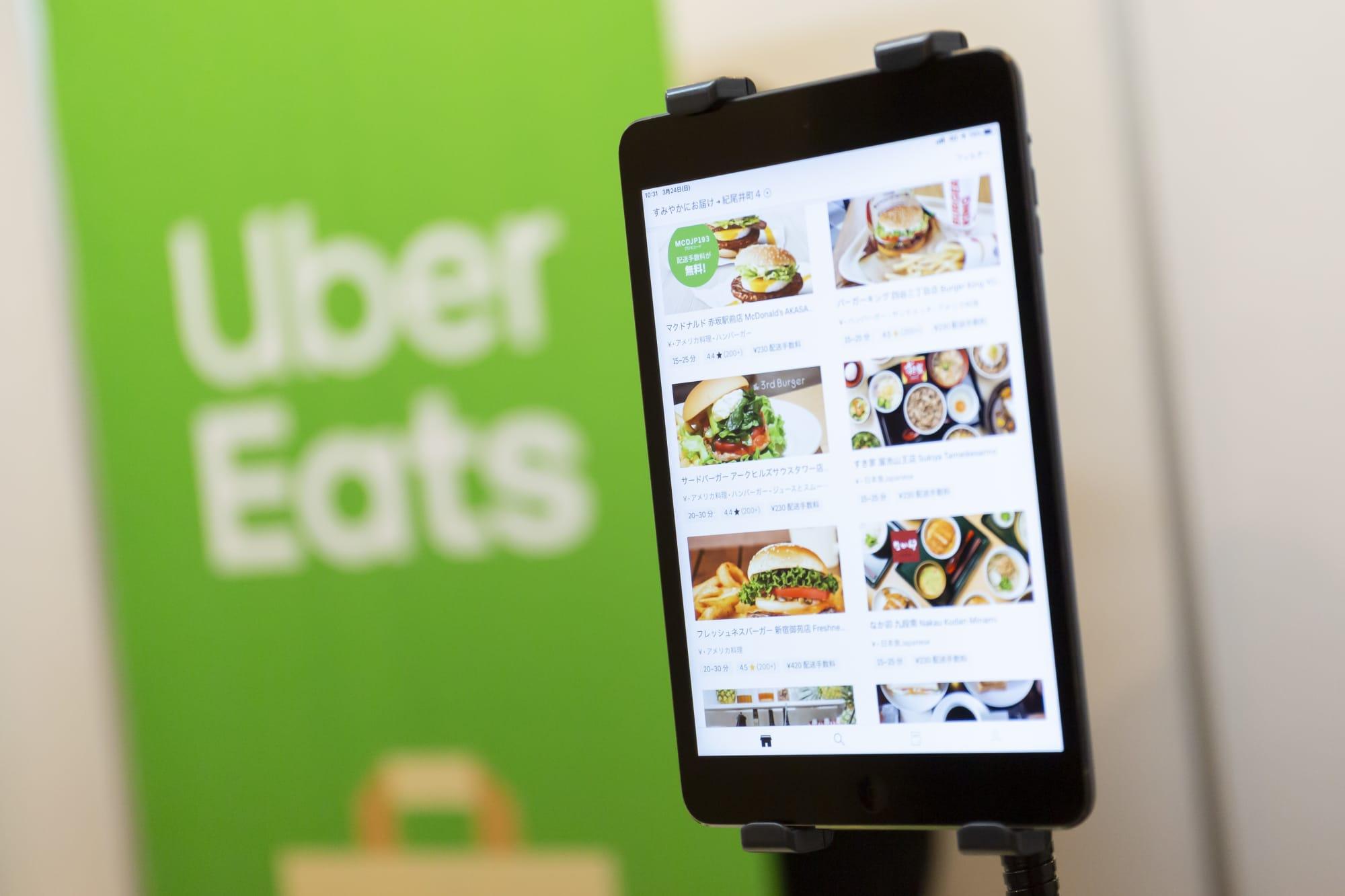 Resultado de imagem para uber eats