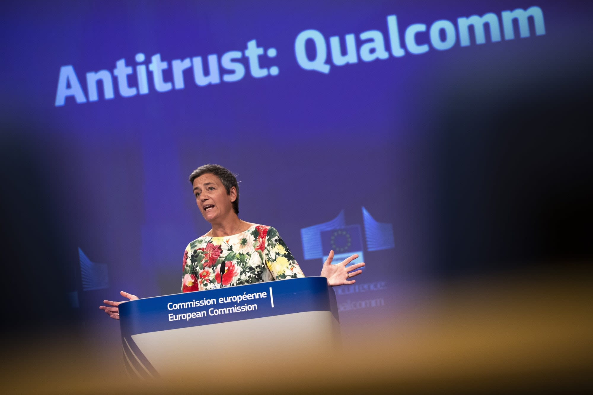 Qualcomm fined €242 million in European antitrust case