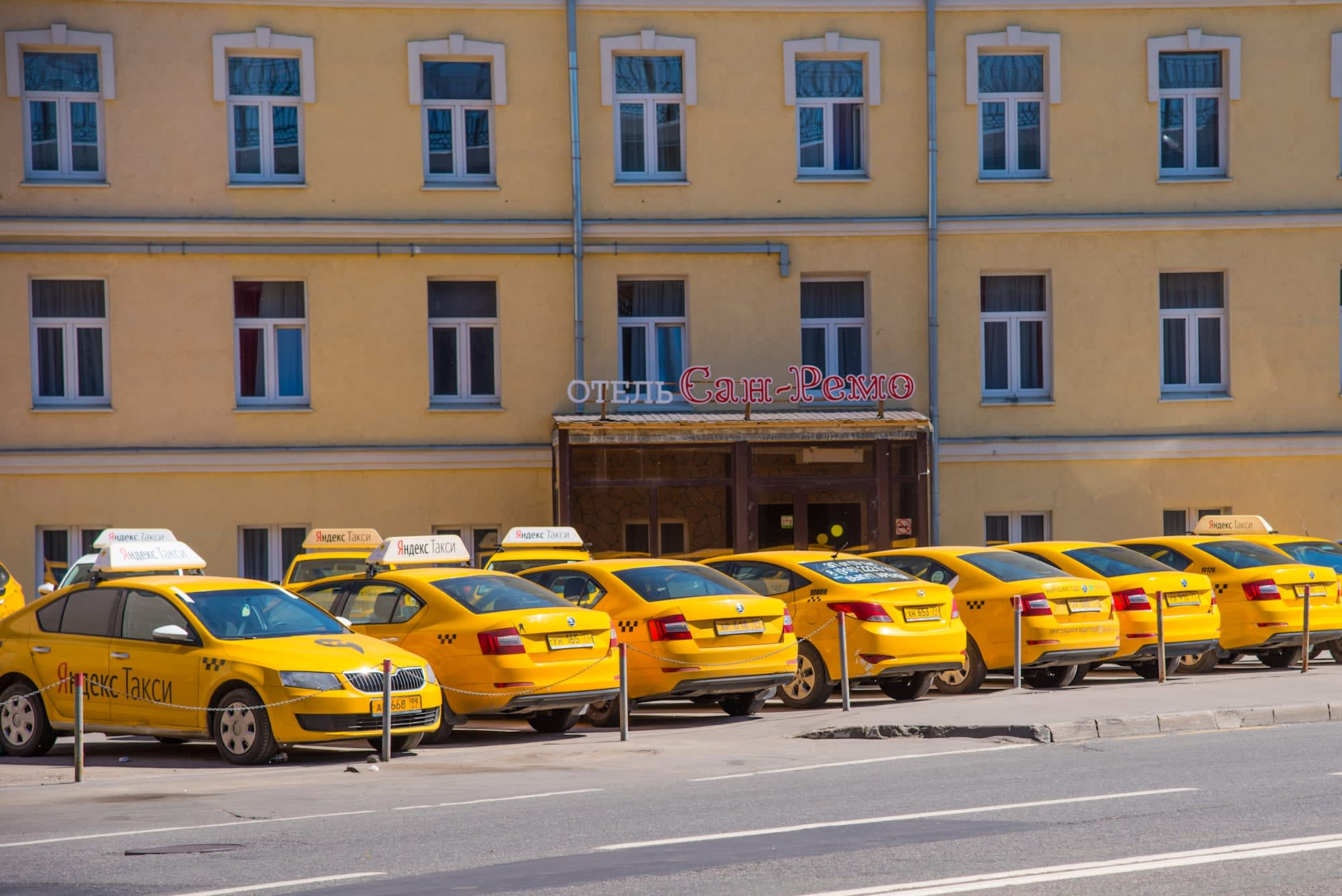 Facial recognition will catch sleepy taxi drivers in Russia