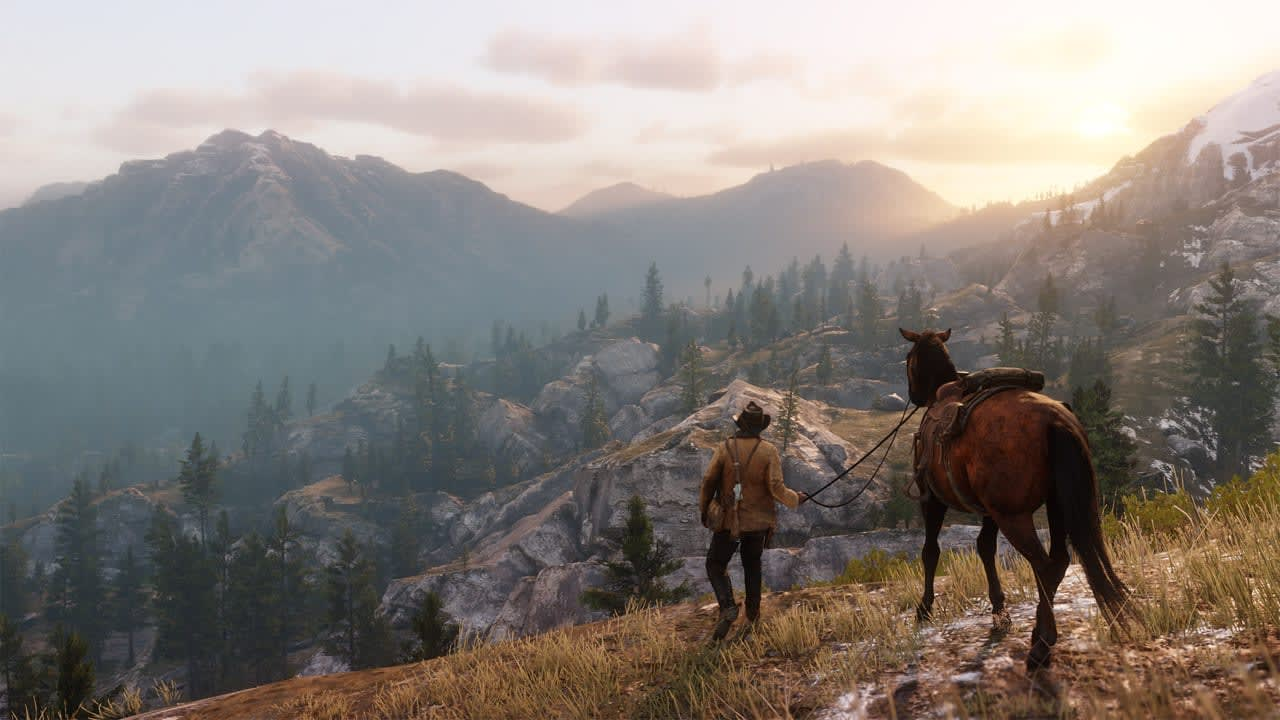 Red Dead Redemption 2' launch comes with an update and an app