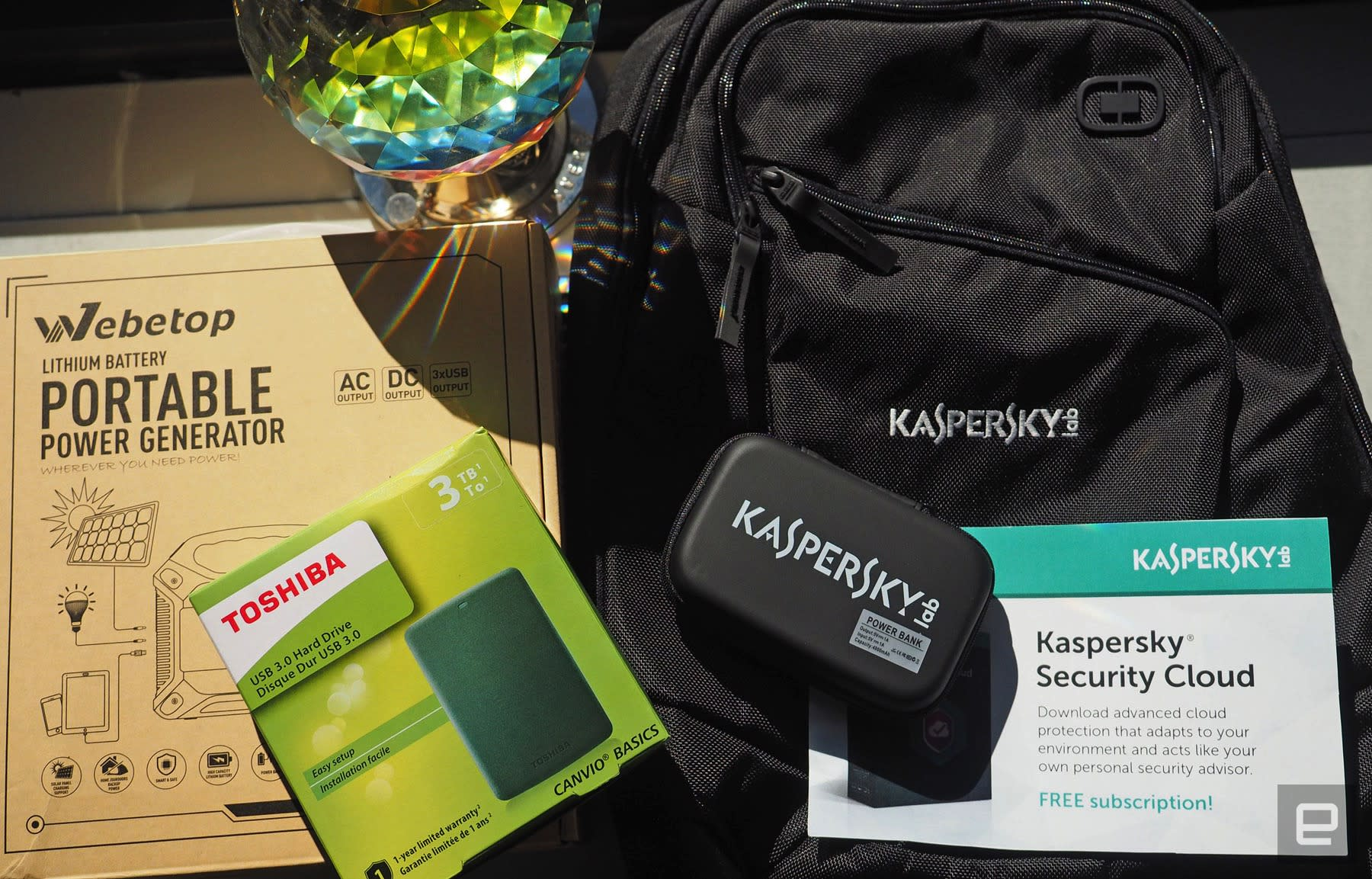 Engadget giveaway: Stay protected and connected courtesy of