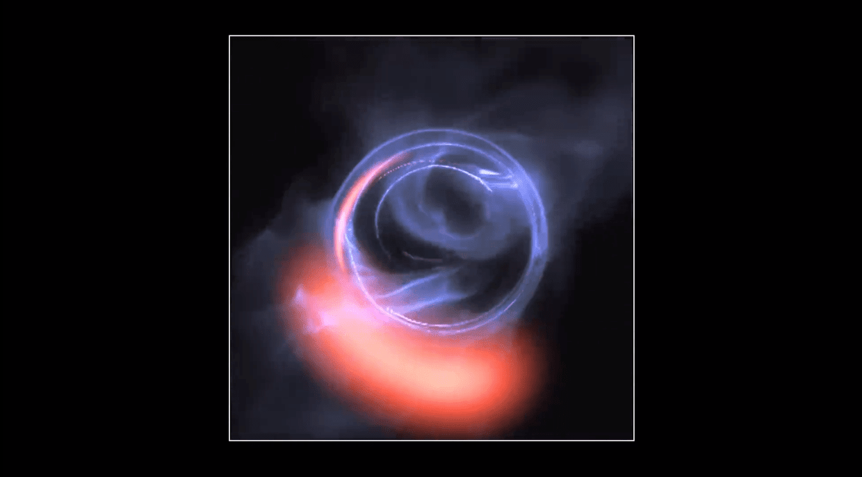 dabb100e681946 Scientists find evidence of a black hole at our galaxy s center