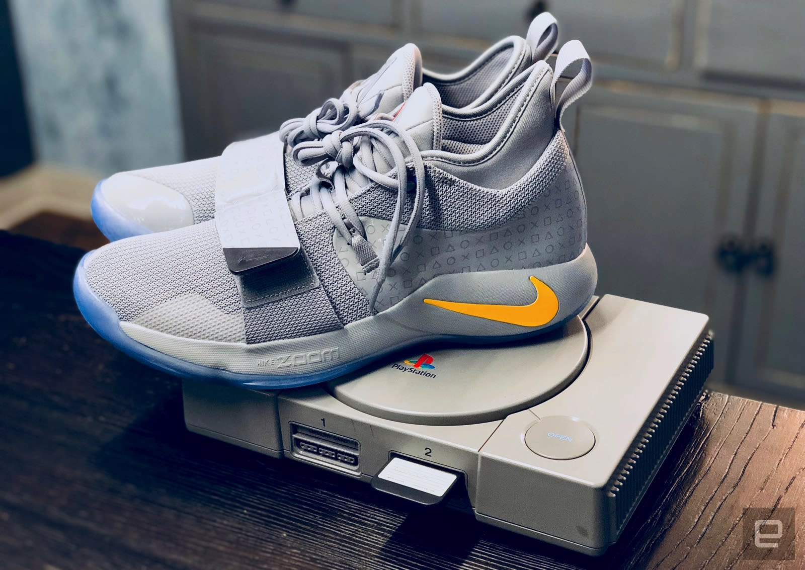 best sneakers 0efcb bcb64 Nike's new PlayStation sneakers pay homage to Sony's classic ...