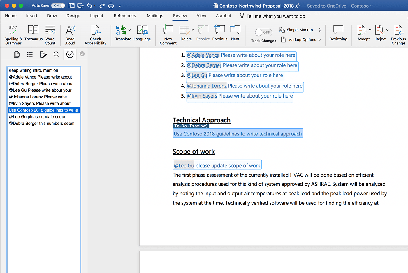microsoft word will automatically create to do lists for you