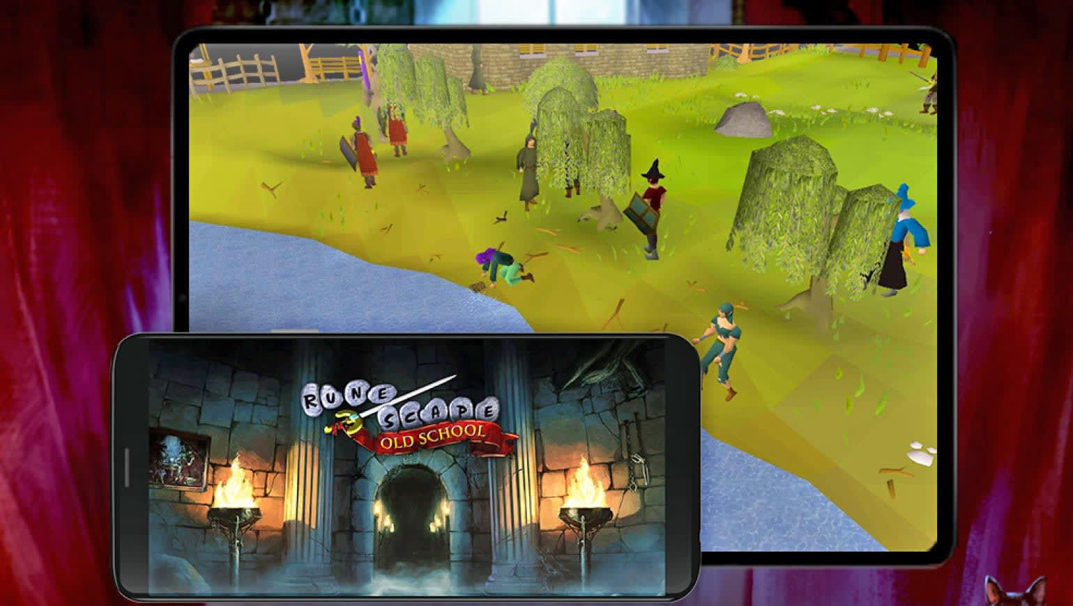 You can finally play 'Old School Runescape' on your phone