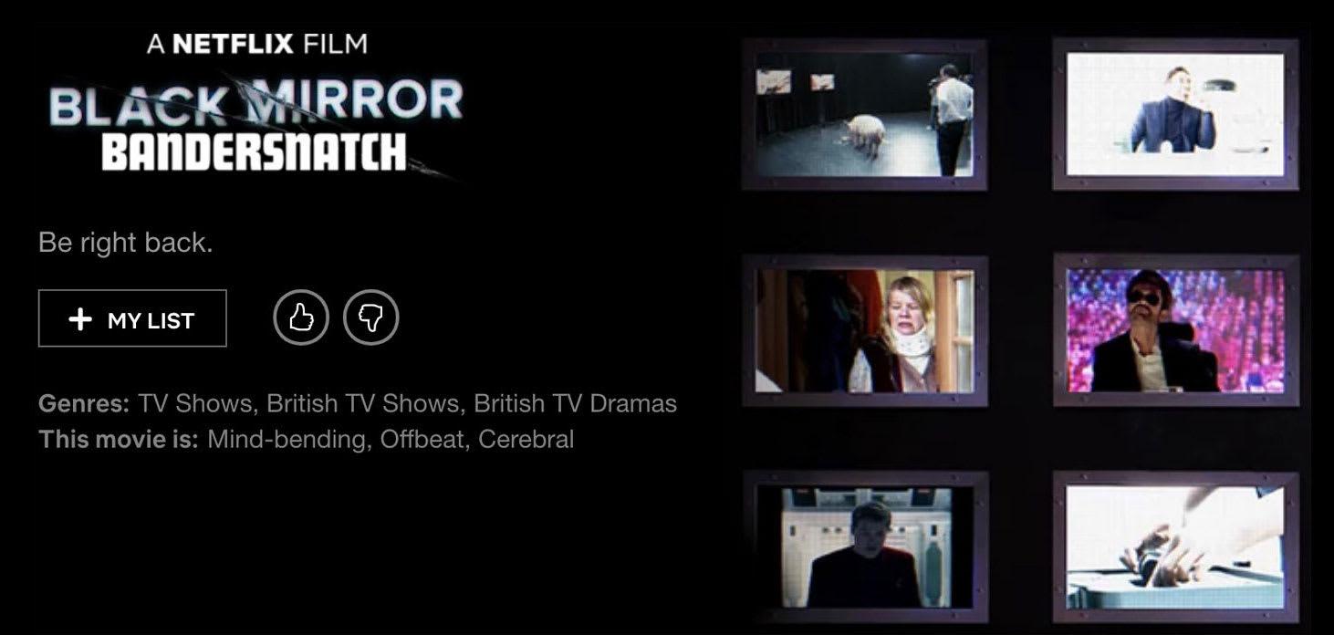 Netflix Teases Black Mirror Movie Release